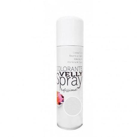 Spray colorant effet velours - Blanc